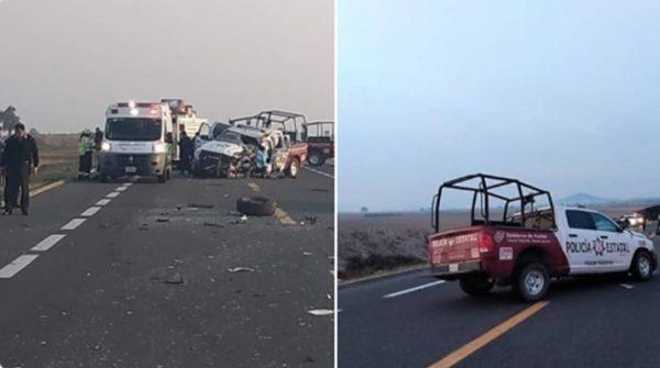 Muere Policía Estatal en mortal accidente sobre carretera a Oaxaca