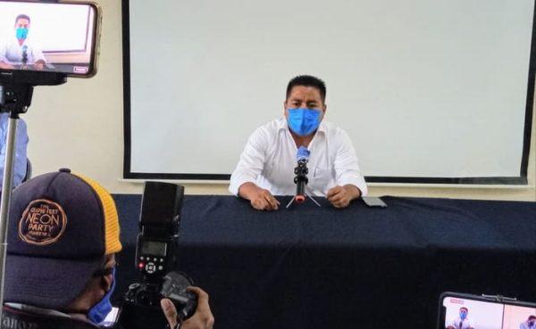 Dávila llama a extremar medidas de prevención para evitar aumenten contagios de Covid-19 en Tuxtepec