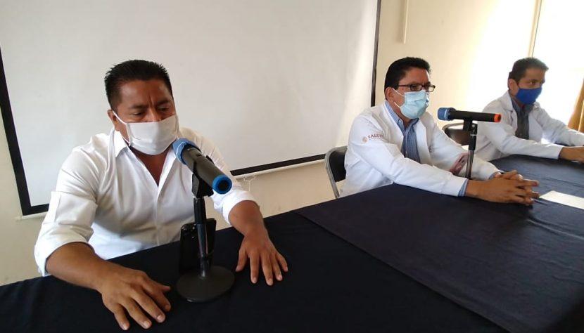 Tuxtepec en semáforo rojo por alto índice de casos de Covid-19: Dávila