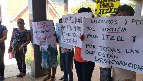 Familiares de Itzel González exigen justicia, lleva casi 1 mes desaparecida