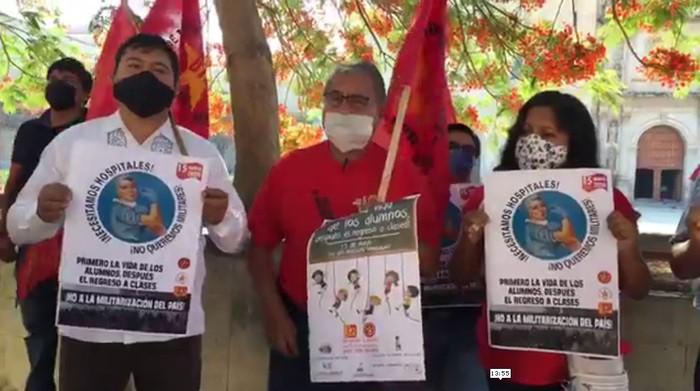 Maestros del FPR piden que se dé por concluido ciclo escolar en Oaxaca