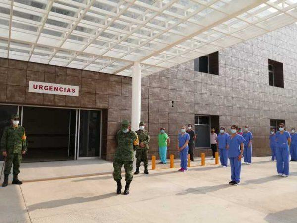 Hospital de SEDENA en Ixcotel, recibirá nuevamente a pacientes covid