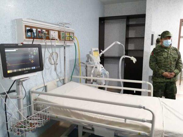 Habilitan 4 hospitales de Oaxaca para pacientes de Covid-19 que requieran terapia intensiva