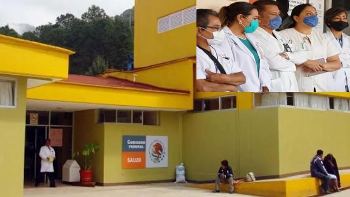 Hospital de Tamazulápam del Espíritu Santo registra brote comunitario Covid-19