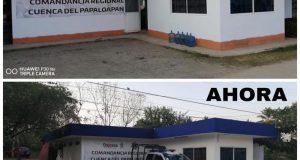 SSPO mejora condiciones de la comandancia en Tuxtepec