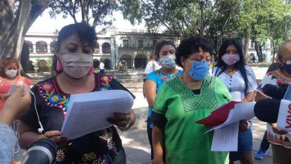 Mujeres del CODDEP piden  la liberacion de Ernesto López López quien fue acusado de feminicidio