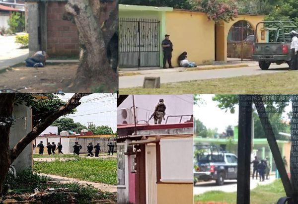 Tras enfrentamiento armado, detienen a tres sujetos en Tuxtepec