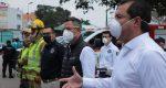 Trabajos de soldadura en locales, posible causa del incendio en la Central: Oswaldo García