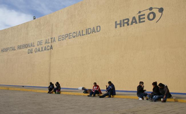 Sindicato de salud, pide declarar cuarentena en Hospital de Alta Especialidad de Oaxaca