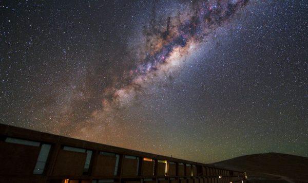 Captan ondas de radio provenientes de la Vía Láctea