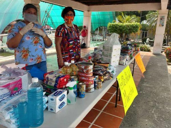 Llaman maestros a donar, para apoyar a familias afectadas por contingencia