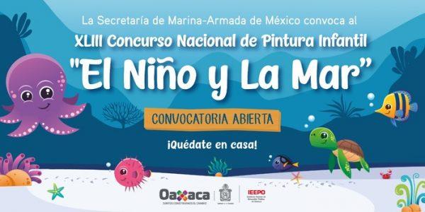"""El 11 de junio, el IEEPO cierra el plazo del concurso, """"El Niño y la Mar 2020"""""""