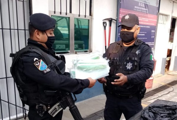 Gobierno municipal de Oaxaca, no quitará filtros sanitarios a pesar de protestas de policías