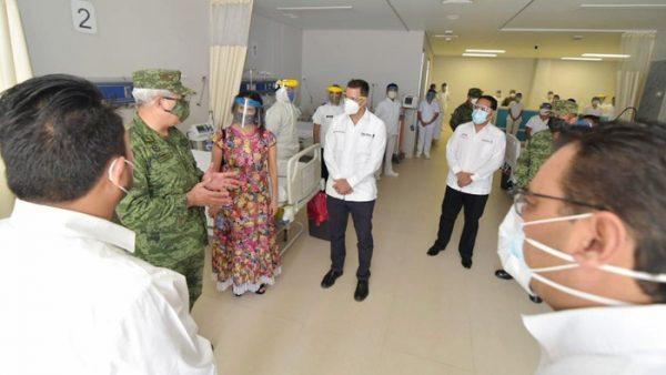 Alejandro Murat amplía la red de hospitales COVID en el Istmo de Tehuantepec