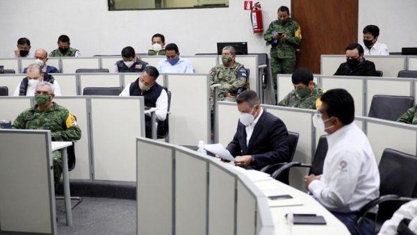 Encabeza AMH la instalación del Comité de Evaluación de Daños por el sismo de magnitud 7.4
