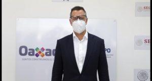 Oaxaca regresará a semáforo amarillo, al reducir contagios de covid: Murat