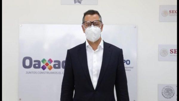 Informa Murat que solicitó declaratoria de emergencia por daños de sismo en Oaxaca