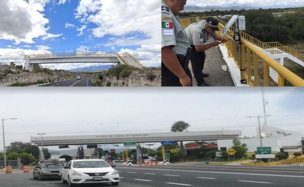 Cámara oculta es descubierta en la carretera Cuacnopalan-Oaxaca