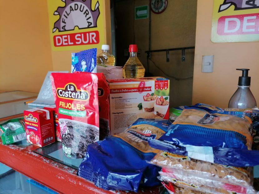 Instalan centro de acopio en Oaxaca para damnificados por sismo en San Mateo Piñas