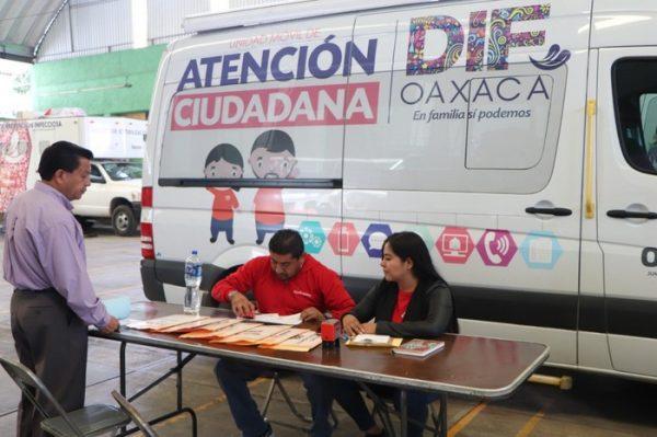 DIF Estatal Oaxaca brinda atención ciudadana las 24 horas del día