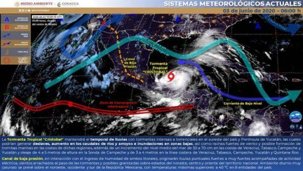 Alerta CEPCO a la población por lluvias en Oaxaca