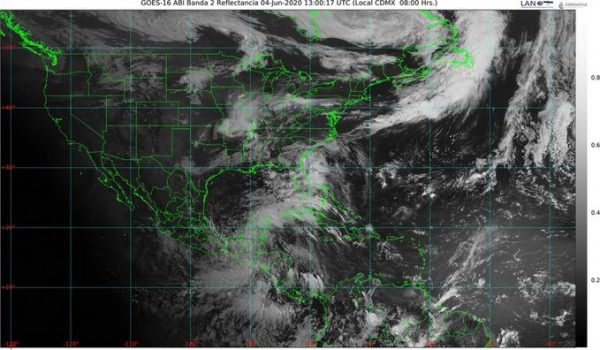 """Pronóstico Meteorológico para Oaxaca ante la tormenta """"Amanda"""""""