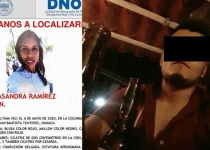 Detienen en Tuxtepec a presunto implicado en desaparición de Casandra