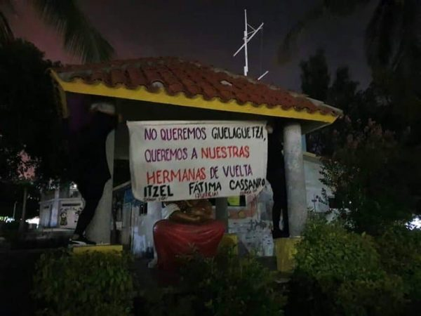 """No queremos Guelaguetza, queremos a nuestras hermanas""; exigen tras feminicidios de Tuxtepecanas"