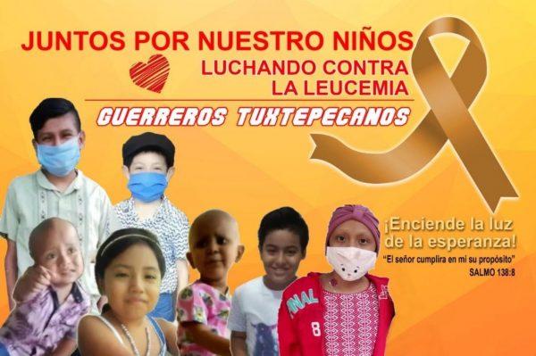 Guerreros Tuxtepecanos piden ayuda, para continuar con sus quimioterapias