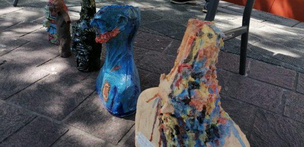 Artistas plásticos de Oaxaca entregan reconocimientos a personal de la salud