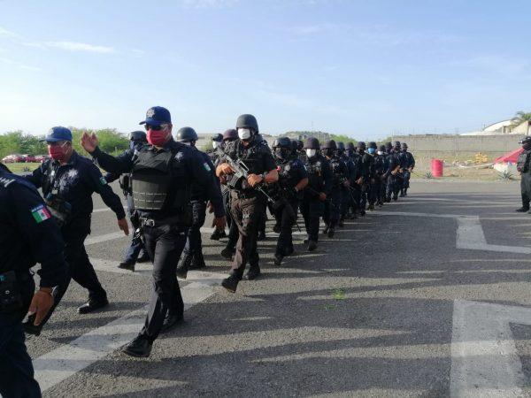 Mantiene SSPO acciones conjuntas para garantizar el estado de derecho en el Istmo de Tehuantepec