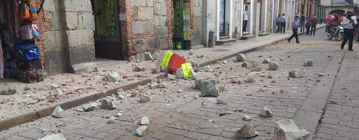 Emite Segob declaratoria de emergencia para 10 municipios más de Oaxaca por sismo