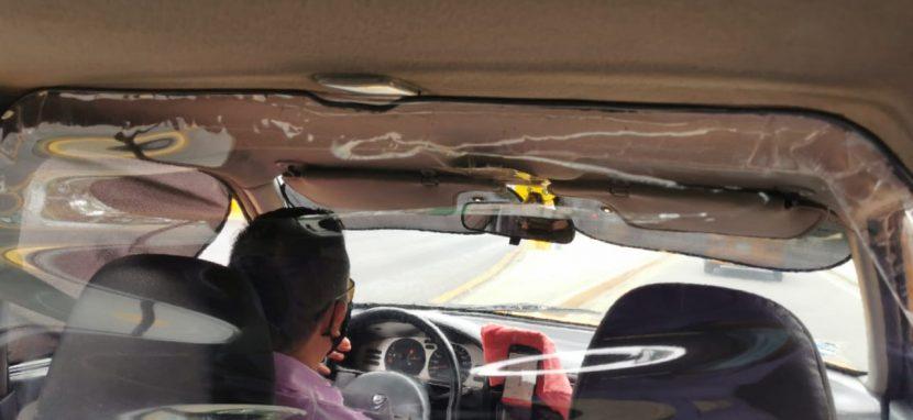 Taxistas ponen iniciativa y creatividad al servicio del cuidado de la salud de pasajeros y pasajeras ante COVID-19