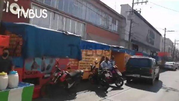 Ambulantes cumplen y se instalan en las calles de Tuxtepec