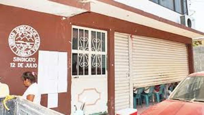 Asalto en la Oficina del Sindicato 12 de Julio, deja un herido en Tuxtepec