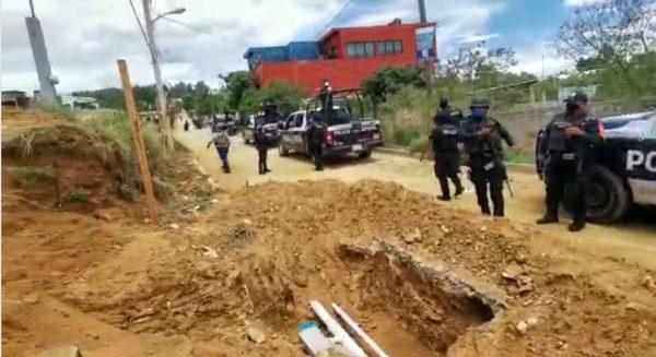Sujetos armados intentan despojar de sus terrenos, a habitantes en Santa María Atzompa