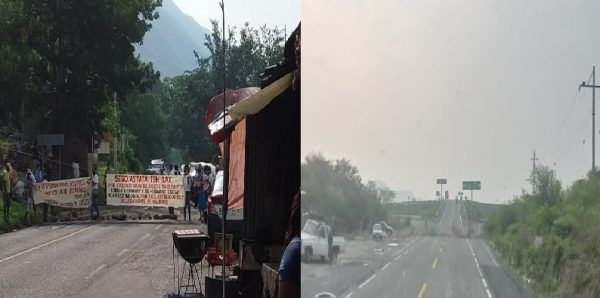 Instalan bloqueos en carreteras del Istmo de Tehuantepec