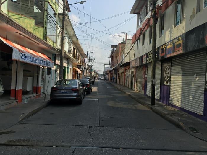 Desaparecen negocios pequeños de Tuxtepec, por contingencia