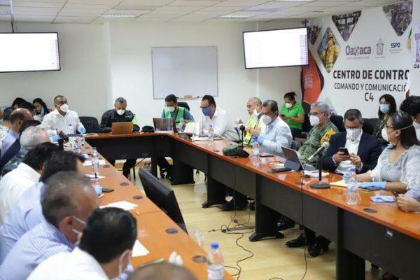 Continúa la cuantificación de daños por sismo en Oaxaca