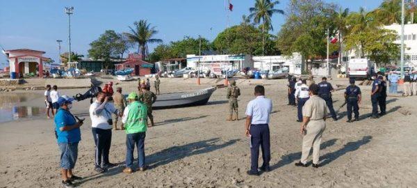 Concluye operativo de búsqueda de extranjero desaparecido en costas de Oaxaca: CEPCO