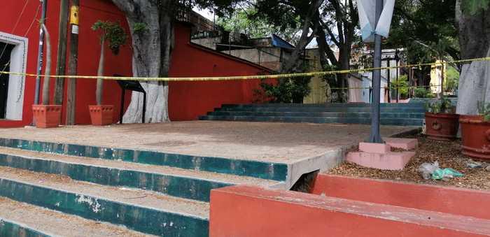 Cierran escalinatas hacia el cerro del Fortín en Oaxaca, por pandemia