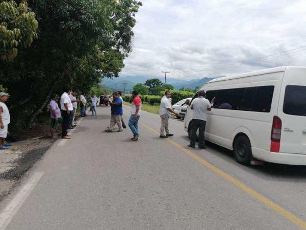 Por manifestación, se suspende el servicio de urvans de Tuxtepec-Valle Nacional