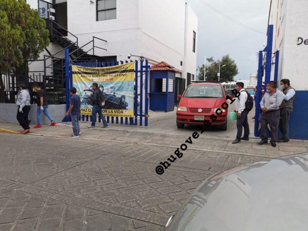 Víctima de covid, fallece en estacionamiento de la Cruz Roja Oaxaca