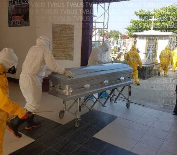En los últimos días, incrementan muertes por covid, en Tuxtepec
