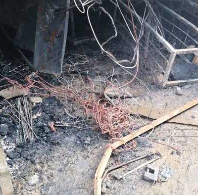 Investigación arroja que incendio en central de abasto de Oaxaca, fue por corto circuito
