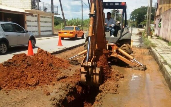 Lluvias atrasan primer paquete de obras en Tuxtepec, solo hay 2 concluidas