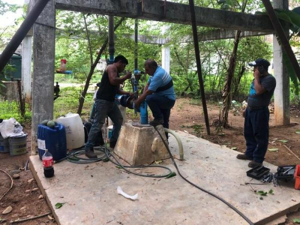 Para mitigar estiaje, dan mantenimiento a 70% de los pozos en Tuxtepec