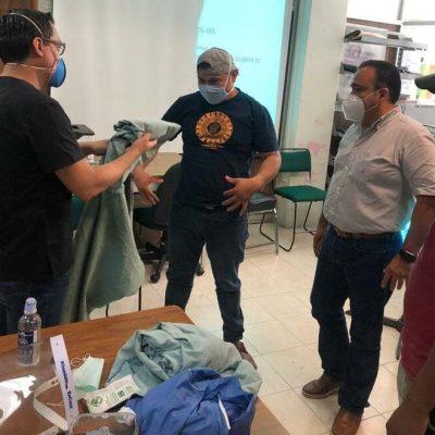 Protección Civil de Tuxtepec se actualiza en protocolos Covid-19