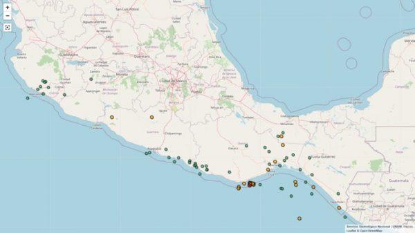 Continúan réplicas de intensidad moderada en Oaxaca