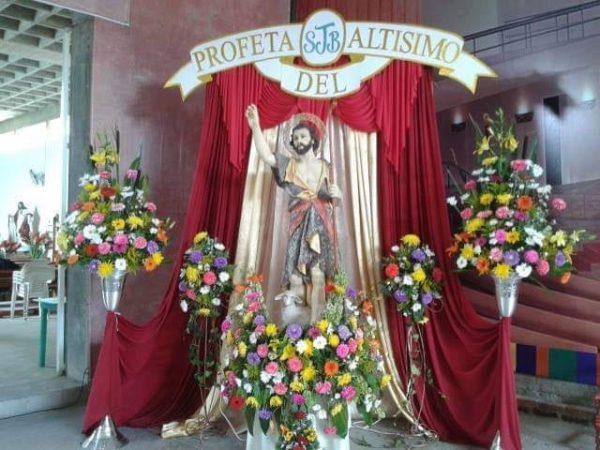 Por contingencia, celebración a San Juan Bautista será de manera virtual